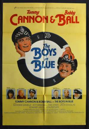 The Boys In Blue Movie Poster Original UK One Sheet 1982 Tommy Cannon Bobby Ball