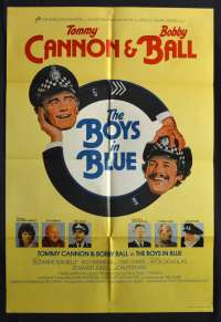 The Boys In Blue 1982 One Sheet movie poster Tommy Cannon Bobby Ball