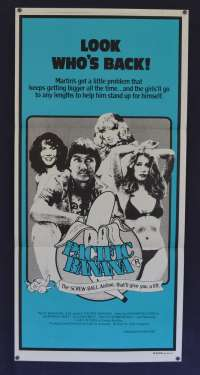 Pacific Banana 1981 movie poster John Lamond Graeme Blundell Daybill