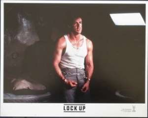 Lock Up Lobby Card USA 11x14 Sylvester Stallone Donald Sutherland Jail