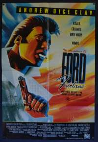 The Adventures Of Ford Fairlane Poster Original One Sheet 1990 Andrew Dice Clay