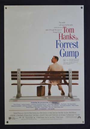 Forrest Gump Poster Original Mini Daybill 1994 Tom Hanks Robin Wright