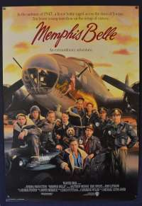 Memphis Belle 1990 One Sheet movie poster Rolled B-17 Flying Fortress
