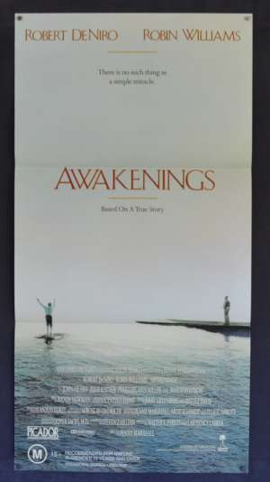 Awakenings Movie Poster Original Daybill 1990 Robin Williams Robert De Niro