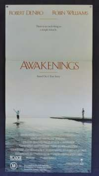 Awakenings Poster Robin Williams Daybill
