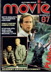 Platoon Movie Magazine 1987 Number 2 Academy Award