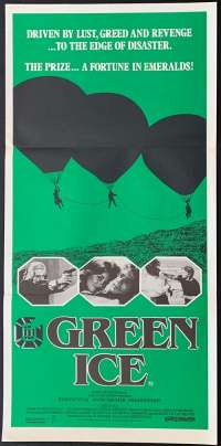 Green Ice Daybill Movie poster