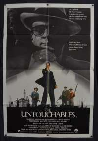 The Untouchables 1987 One Sheet movie poster Kevin Costner Sean Connery