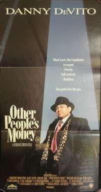 Other People's Money Daybill Movie poster