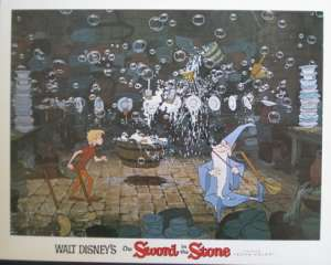 Sword In The Stone, The - Disney Lobby Card No 5