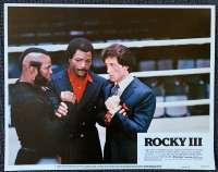Rocky 3 Sylvester Stallone Boxing Lobby Card No 7
