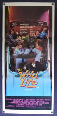 Wild Life, The Daybill Movie poster