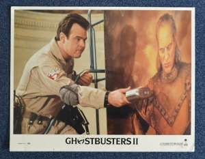 Ghostbusters II 1989 Lobby Card 5 Dan Aykroyd Bill Murray