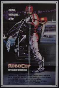 RoboCop 1987 movie poster One Sheet USA Peter Weller Nancy Allen