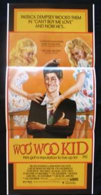 Woo Woo Kid, The 1987 Patrick Dempsey Daybill movie poster