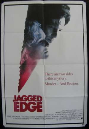 Jagged Edge One Sheet Australian Movie poster