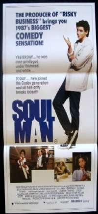 Soul Man Daybill Movie poster