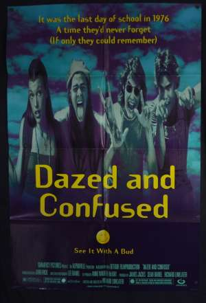 Dazed And Confused Movie Poster Original USA One Sheet Matthew McConaughey