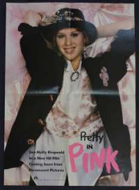 Pretty In Pink Poster Special Cinema Release 1986 Molly Ringwald John Hughes