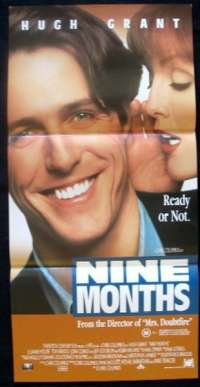 Nine Months Daybill Movie poster