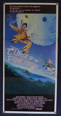 Curse Of The Pink Panther 1983 Daybill movie poster David Niven Blake Edwards