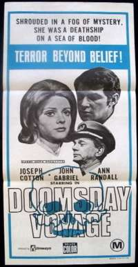 Doomsday Voyage Daybill movie poster