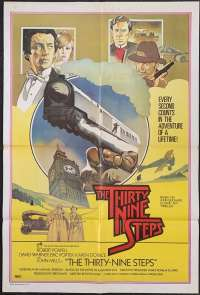 The Thirty Nine Steps One Sheet Australian Movie poster