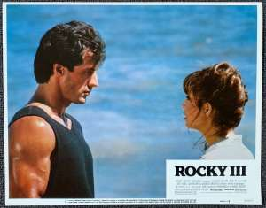 "Rocky 3 Lobby Card USA 11"" x 14"" Sylvester Stallone Boxing"