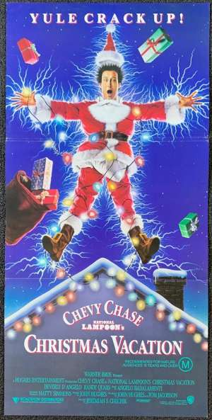 National Lampoon's Christmas Vacation Poster Original Daybill 1989 Chevy Chase