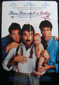 Three Man And A Baby One Sheet Australian Movie poster