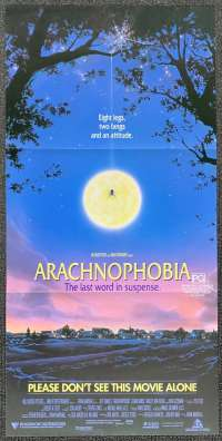 Arachnophobia Movie Poster Original Daybill 1990 John Goodman Jeff Daniels