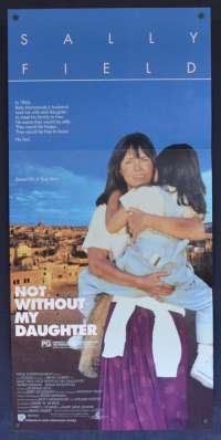 Not Without My Daughter movie poster Daybill Sally Field Alfred Molina