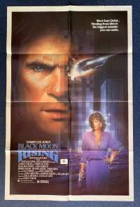 Black Moon Rising Poster Original USA One Sheet 1986 Tommy Lee Jones