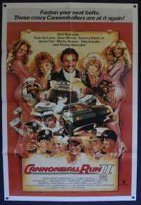 The Cannonball Run 2 1984 Poster One Sheet Burt Reynolds Drew Struzan art