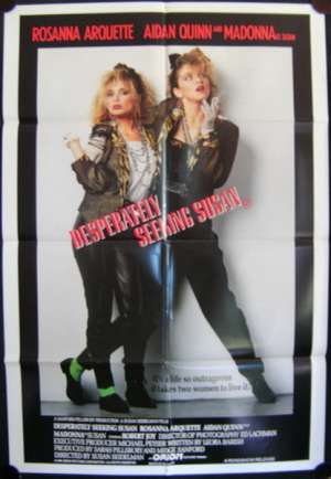 Desperately Seeking Susan One Sheet Australian Movie poster