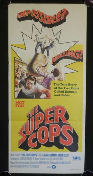 The Super Cops Daybill Movie Poster
