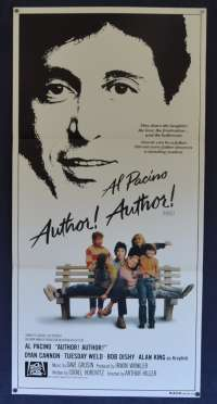 Author, Author! - Al Pacino Daybill Movie poster