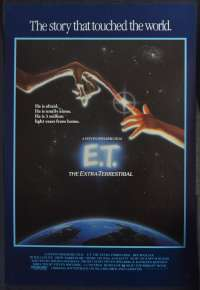E.T. The Extra-Terrestrial 1982 One Sheet movie poster Rolled 1985 RI Spielberg