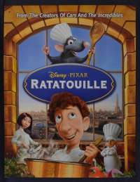 Ratatouille 2007 One Sheet DVD movie poster Disney French Chef