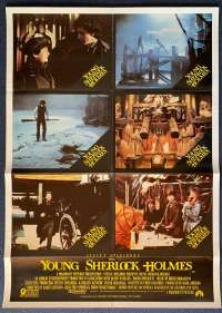 Young Sherlock Holmes 1985 Steven Spielberg Photosheet movie poster