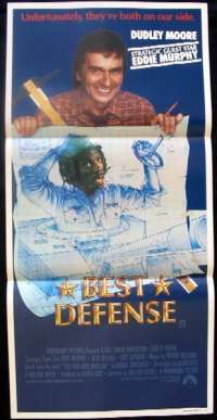 Best Defense Daybill Movie poster