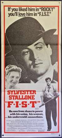 F.I.S.T. Poster Original Daybill Aka FIST 1978 Sylvester Stallone