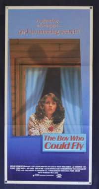 The Boy Who Could Fly Movie Poster Original Daybill 1986 Lucy Deakins Bonnie Bedelia