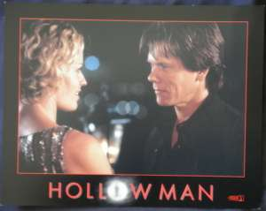 Hollow Man Lobby Card USA Kevin Bacon Elisabeth Shue