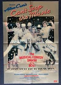 Can't Stop The Music Poster Original UK One Sheet 1980 Village People