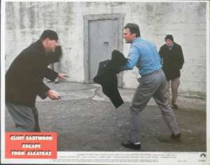 Escape From Alcatraz 1979 Clint Eastwood Fred Ward Lobby Card No 2