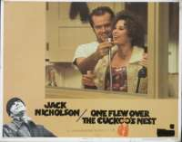 One Flew Over The Cuckoo's Nest Jack Nicholson Lobby Card No. 2