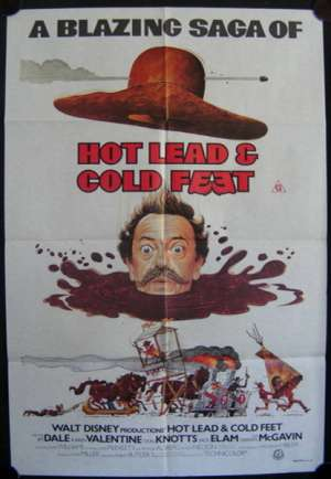 Hot Lead & Cold Feet One Sheet Australian Movie poster