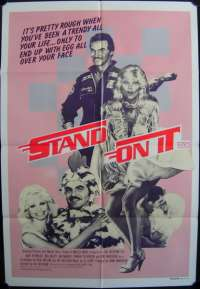 Stand On It One Sheet Australian Movie poster