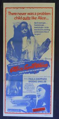 Alice Sweet Alice Movie Poster Original Daybill 1978 Holy Terror Rare Brooke Shields